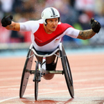 RT @sportlobster: David Weir has won gold for England in the mens 1500m T54, his first Commonwealth title. #Glasgow2014 http://t.co/xIU8CS97Lc