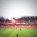 Flares in the away end as @PortersDayOut runs riot against fenerbache #sufc #utb #fenerbache http://t.co/wGHLqe6jt9