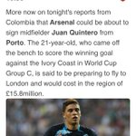 RT @samuelJayC: SSN have the Quintero story on their website. #afc http://t.co/3z4r7wx3Y9