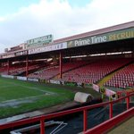 RT @FBL72: Bristol City have started knocking down the Wedlock Stand. RT if youve ever been in this great away end. http://t.co/Dgg4Rbljym