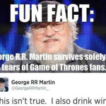 George R.R. Martin…True Lad #GoT http://t.co/hgC6tXjzQx