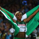 And Another Gold for 9ja Blessing Okagbare #Glasgow2014 http://t.co/PMb7U2eWhz