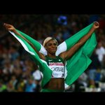 Queen of the track - Okagbare #NGA http://t.co/DxevqkP42m