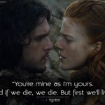 """@gameofquote: #Ygritte: Youre mine... #GameofThrones #GameofThronesQuotes #GoT #GoTFans http://t.co/QwQiTpuil8 http://t.co/FJ79bwBti6"""