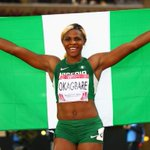 RT @Sportive23_: Blessing Okagbare has won the women's 200 metres gold medal at the Glasgow Commonwealth Games. Her second gold medal. http://t.co/jSn5Mb4mT7