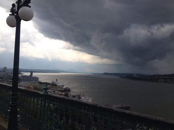 Check out the #Wx approaching @FairmontHotels #Quebec #nofilter @weathernetwork: http://t.co/yvC9w3sOL4
