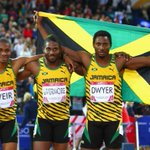 RT @BBCSport: Jamaica win all the medals in the mens 200m. Watch here http://t.co/hfXkA3rqTC (UK users only) #Glasgow2014 http://t.co/KImMzXYvQ4