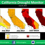 Statewide water restrictions begin as Californias drought worsens dramatically in 1 week http://t.co/Odf24q8n22 http://t.co/nqwqage6vE