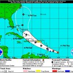 Forecast track for Tropical Storm #Bertha. @ActionNewsJax http://t.co/EP7QJOefKX