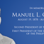 Today is the 70th death anniversary of Manuel L. Quezon, UST Law alumnus, 2nd President of the Philippines http://t.co/HagAxXqbzd #USTPride