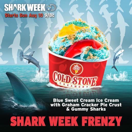 It's officially #SharkWeek! We're celebrating this sharktastic week with a Shark Week Frenzy Creation. How about you? http://t.co/ezI9yhssga
