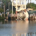 RT @ActionNewsJax: JUST IN: Waterslide apparently collapses at Eagle Harbor in #FlemingIsland. Were working to get more information. http://t.co/hwPIsy4w1D