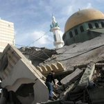 Israel destroyed 80 mosques in Gaza just in the past 25 days.  #GazaUnderAttack #PrayForGaza http://t.co/6NgOgXVKWd