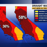 #CAdrought just got worse. Exceptional drought expanded from 36% to 58% of state.. Napa & Sonoma Co. included. http://t.co/Uw7fspq9yI