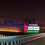 The Palestine Solidarity Campaign did this in London tonight (via @jesshurdphoto) http://t.co/luTiGI6oTA