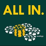 RT @jennifertrumpp: WERE ALL IN. #oakland #athletics http://t.co/SvFYHWt5a3