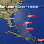 "Tropical storm ""Bertha"" forms east of the Caribbean... see local impacts @ 11:15 on CBS47 w/ Chief Met. Mike Buresh http://t.co/ATEk8V4ZCr"