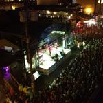 RT @CailinONeil: Woooo! @TheWallflowers have hit the stage at @GeorgeStLive and are rockin out! #gsf2014 http://t.co/gXSdSAihAd