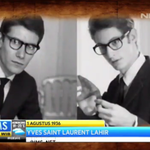 RT @IMS_NET: 1 Agustus 1936 designer dunia Yves Saint Laurent lahir. Todays History @IMS_NET http://t.co/LOk3R57wRP