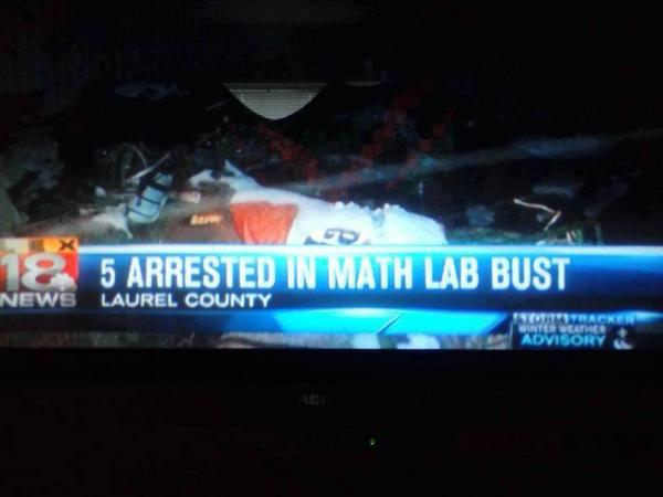 WARN YOUR KIDS EARLY... Don't do math!  (via Julie Quinn) http://t.co/XxWjXxihPO