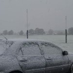 Snow at St Patricks College, Ballarat. Ping @theheraldsun http://t.co/LilDo2BMJW