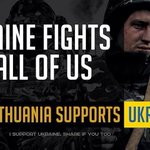 RT @narkeviciute: #Ukraine fights for all of us. #Lithuania supports Ukraine. @LTUworld @EuromaidanPR @LithuaniaUNNY @MFA_Ukraine http://t.co/YdqE2nyrt7