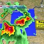 Severe thunderstorm WARNING issued for #CitySC, Stewart Valley and Webb regions. #SKstorm #Sask #Skstorm http://t.co/0S5Zy9yQ9N