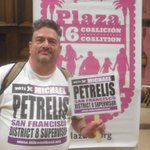 RT @MichaelPetrelis: My #ILikeMIkeSF pose at #PlazaSixteen mtg. #SanFrancisco #LGBT #aids http://t.co/UFsifSQd0H
