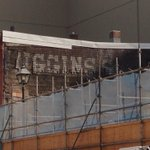 Ghost sign revealed with Roy removal #halifax http://t.co/LPvuEJUJww