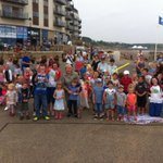 RT @magicmikeshows: Our Beach Party @ The Piazza, the Sands @Scarborough_UK http://t.co/IBFlQJflJA