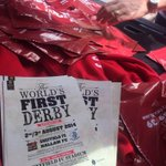 RT @2393939: @Sheffieldfc - distributing worlds first derby flyers for this weekend with our goodie bags...!!! #sheffieldissuper http://t.co/RQLXVcvslw