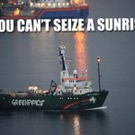 RT @gp_sunrise: BREAKING! The Arctic Sunrise has finally left Russia. More to follow ... (1/2) http://t.co/xszuUY6bz2