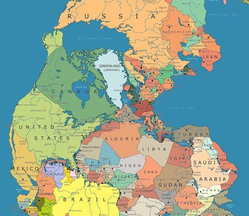 Dónde estarían los países actuales en Pangea http://t.co/fI4aTyL5DH http://t.co/NLiz2uGAVA