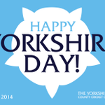 RT @Yorkshireccc: Happy Yorkshire Day from everyone at the #YCCC #YorkshireDay #WhiteRose http://t.co/nNeAlzNwbE