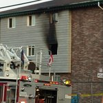 Damage from fire on Elmwood Ave in Dartmouth #cbcns http://t.co/mOIwWN5pH2