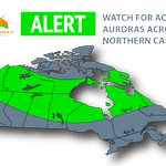 AURORAMAX ALERT • Observers in northern BC AB SK MB ON QC NL be on alert for #auroras August 2, 2014! http://t.co/bBVP4VZHs4