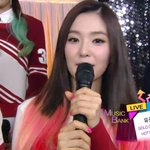 "RT @SMTownEngSub: Irene introduces herself as the leader of ""Red Velvet"" on Music Bank http://t.co/zHFyZu4a3V"