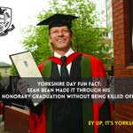 RT @sheffielduni: Heres a special Yorkshire Day Friday Fact graphic about all-round King of Yorkshire Sean Bean: http://t.co/kc9XBm9Ihx