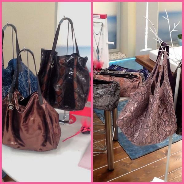 Katerina Kenourgiou (@katrinken): Κάντε RT και μια τυχερή από εσάς θα κερδίσει μια τσάντα από την νέα συλλογή της @AMM_GR #KalokairiPantou @ALPHA_TV http://t.co/LZjrxPmXrP