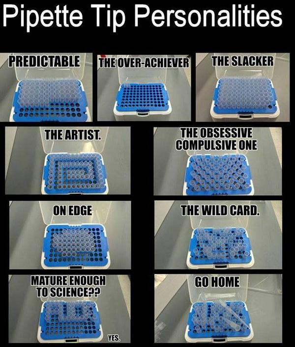 Pipette Tip Personalities via @IFLScience http://t.co/SeFk2gTr5M