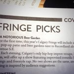 RT @AcceleratorYYC: YES! Featured as a top pick in @FFWDWeekly @calgaryfringe Lets do this! @notimprov @villagebrewery @DateNightYYC http://t.co/yvHH9H4zdT