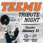 Join us for a night youll remember forever. Help us honor #NHLDucks legend Teemu Selanne: http://t.co/T015Q3nOdU http://t.co/svuvRfTlXr