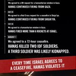 Once again, Israel accepted a ceasefire. Once again, Hamas violated it. http://t.co/DqQBMSUTDz