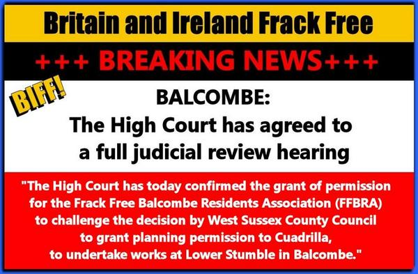 mt .@vanessa_vine #FF BREAKING!! #Balcombe ok'd legally to challenge @CuadrillaUK #fracking: https://t.co/neyCsTfr7d  http://t.co/dQSaWPMlQP
