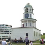 Were at @ParksCanada_NS Old Town Clock with @thebroodhfx Pop Up Show! #SummerOf965 http://t.co/98hp7mb6bZ