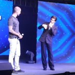 RT @SRKFC1: KING KHAN ON THE STAGE .. @ColorsTV @GotTalentWS #SRKhostsGTWS #GotTalentWS @iamsrk http://t.co/35Mgs8gLHD
