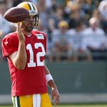 MUST SEE: Aaron Rodgers hits nothin but net from deep! Watch the throw: http://t.co/1bu7vswxsR http://t.co/HrrohCtDCk