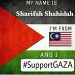 RT @imShahidah: #freepalestine #savegaza #supportgaza #malaysia http://t.co/ryYKwKWWrb