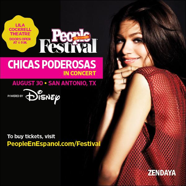 Have you bought your tickets to see @Zendaya at #FestivalPeople #ChicasPoderosas concert yet? http://t.co/hGifnBqbNF http://t.co/9UDbOCjtvW