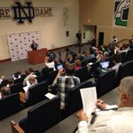 RT @NDFootball: Rooms full with media for @CoachBrianKellys preseason press conference as usual. Catch it live now on @WatchND http://t.co/7eBCq0hq49